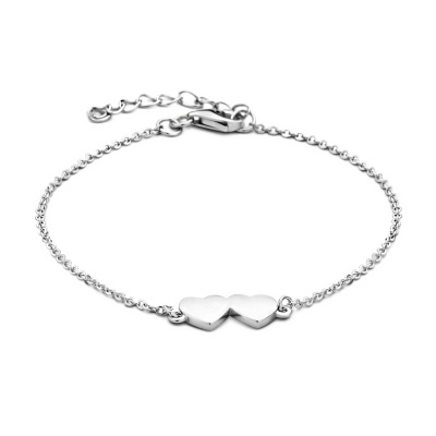 Selected Jewels Hearts Armband 1327001 (Lengte: 16.00-19.00 cm)