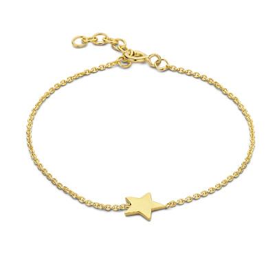 Selected Jewels Julie Esthée 925 sterling zilveren goudkleurige armband SJ2010101