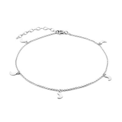 Selected Jewels Julie Louna 925 Sterling Zilveren Enkelbandje SJ310003