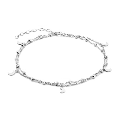 Selected Jewels Julie Luna 925 Sterling Zilveren Enkelbandje SJ310011
