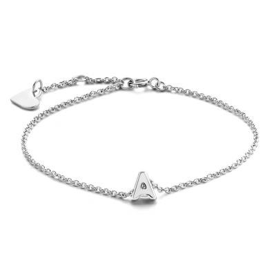 Selected Jewels Julie Chloé 925 sterling zilveren initial armband SJ320009