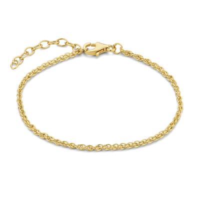 Selected Jewels Julie Madelon 925 Sterling Zilveren Goudkleurige Armband SJ320017