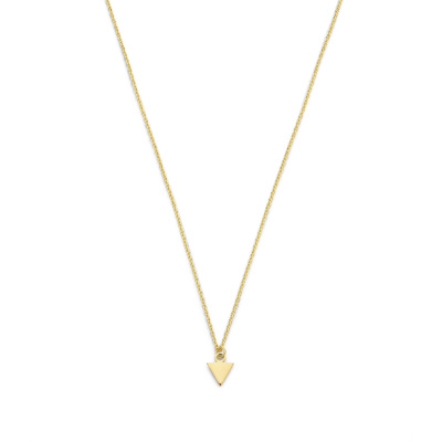 Selected Jewels Julie Charlotte 925 Sterling Zilveren Goudkleurige Ketting SJ340024