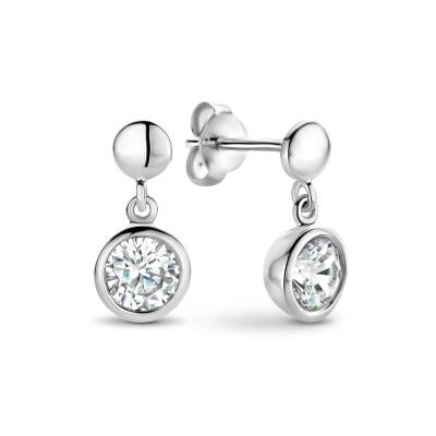 Selected Jewels Mila Elodie 925 Sterling Zilveren Oorhangers SJ360065