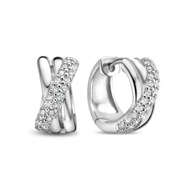 Selected Jewels Mila Elodie 925 Sterling Zilveren Creolen SJ360074