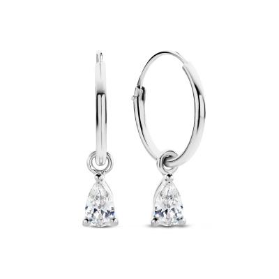 Selected Jewels Mila Elodie 925 Sterling Zilveren Creolen SJ360095