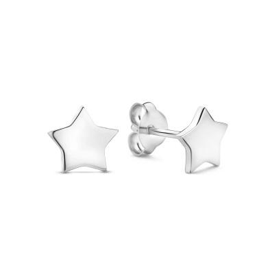 Selected Jewels Julie Esthée 925 Sterling Zilveren Oorknoppen SJ360098