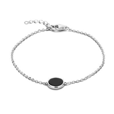 Selected Jewels 925 Sterling Zilveren Ise Armband SJ0210258 (Lengte: 17.00-19.00 cm)