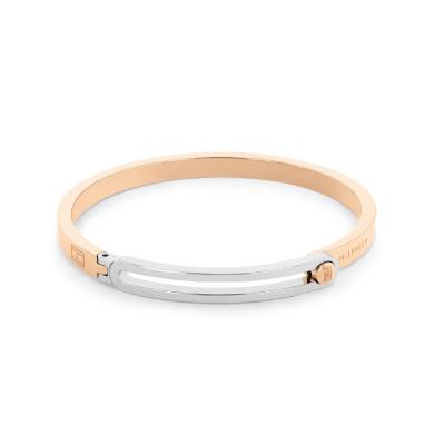 Tommy Hilfiger Roségoudkleurige Armband TJ2780534 (Lengte: 19.00 cm)