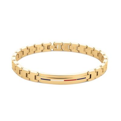 Tommy Hilfiger Bruine Armband TJ2790311 (Lengte: 21.00 cm)