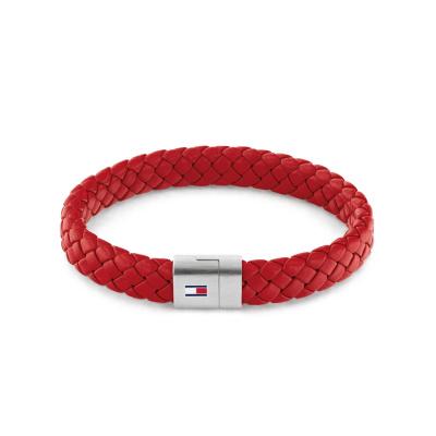 Tommy Hilfiger Rode Armband TJ2790329 (Lengte: 21.00 cm)