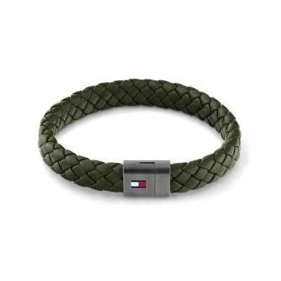 Tommy Hilfiger Groene Armband TJ2790332 (Lengte: 21.00 cm)