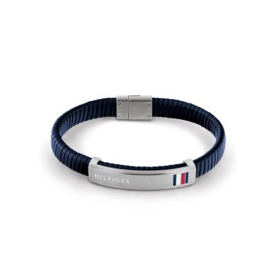 Tommy Hilfiger Blauwe Armband TJ2790347 (Lengte: 21.00 cm)