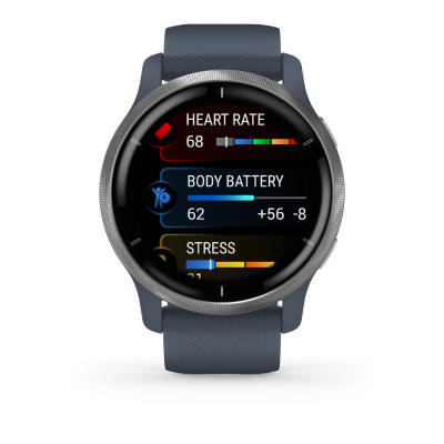 Garmin Venu 2S smartwatch blauw 010-02430-10