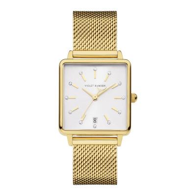 Violet Hamden Dawn Goud- en Zilverkleurig horloge (34 mm) VH09013