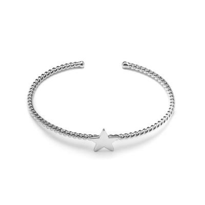 Violet Hamden Luna 925 Sterling Zilveren Twisted Star Armband VH12017
