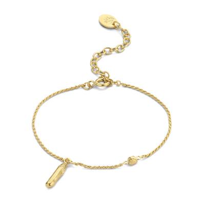 Violet Hamden Sisterhood Mona 925 Sterling Zilveren Goudkleurige Armband VH12031