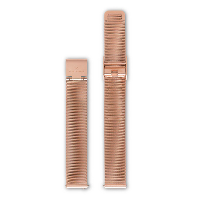 Violet Hamden Strap 12mm Evening Rosegold VH41004