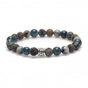 Karma Atlantic Silver Bead Armband 86636 (Lengte: 20 cm)