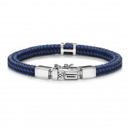 Buddha to Buddha Denise Cord Mix Blue Armband BTB780MIX-BU