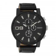 OOZOO Timepieces Zwart horloge C10067 (50 mm)