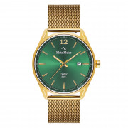 Mats Meier Castor Groen/Goudkleurig horloge MM01011