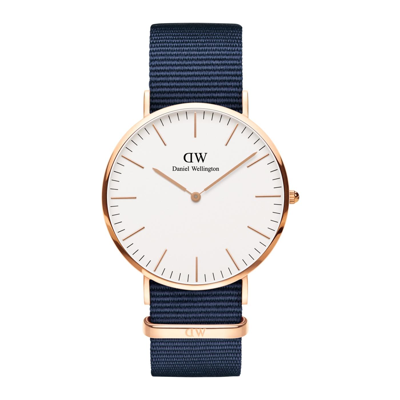 Afbeelding van Daniel Wellington Classic Bayswater horloge DW00100275 (40 mm)