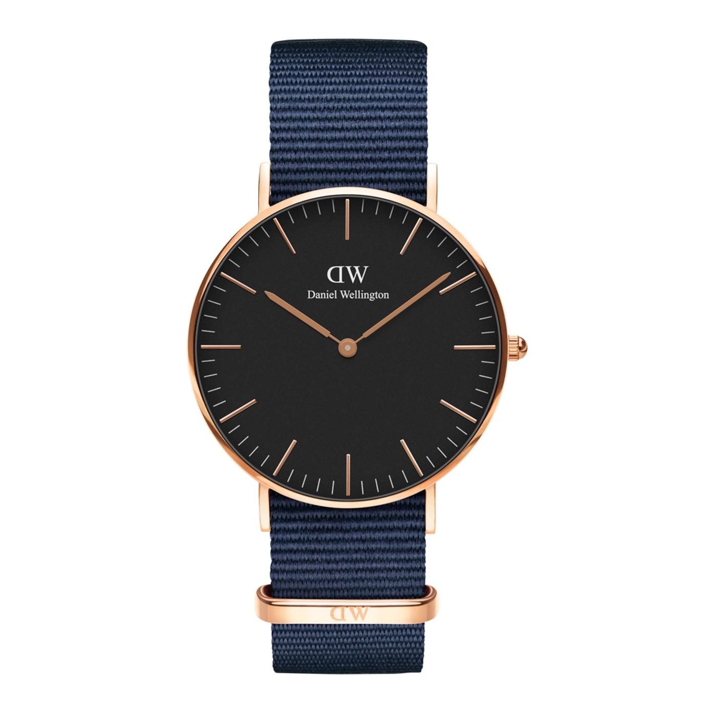 Afbeelding van Daniel Wellington Classic Bayswater horloge DW00100281 (36 mm)
