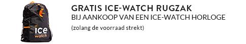 Gratis Ice-Watch tas bij aankoop horloge