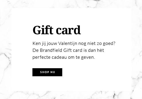 Brandfield giftcard valentijnscadeau